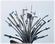 Glasfaser-Lichtleiter Kunststoff-Lichtleiter